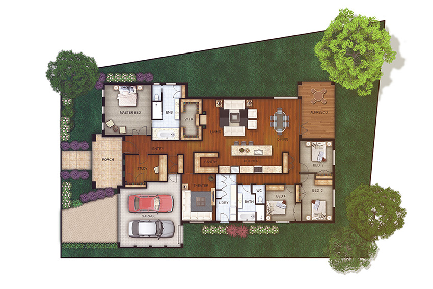 Floor Plans & Site Plan
